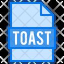Toast File File Types Icon