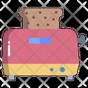 Toast Maker Toaster Slice Toaster Icon