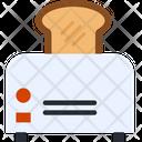 Toasted Bread Bread Toast Bread Slice Icon