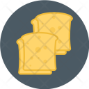 Toasted Bread Icon