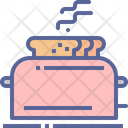 Bread Toast Cook Icon