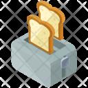 Toaster Electric Appliances Icon