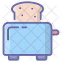 Toaster Toast Machine Electronics Icon