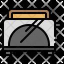 Breakfast Toaster Toast Icon