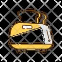 Toaster Baker Machine Icon