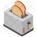 Toaster Electric Appliance Kitchenware Icon