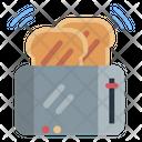 Toaster Bread Breakfast Icon