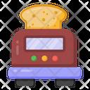 Toast Toaster Home Appliance Icon