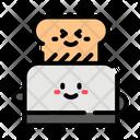 Toaster Bread Toast Icon