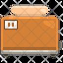 Toaster Slice Toaster Bread Icon