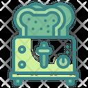 Toaster Breads Breakfast Icon