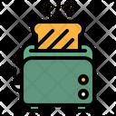 Toaster Toast Restaurant Icon