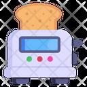 Bread Toaster Kitchen Appliance Toaster Icon