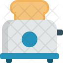 Toaster Bread Cooking Icon