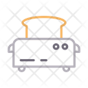 Toaster Machine Icon