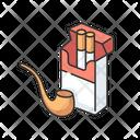 Tobacco Smoke Pipe Icon