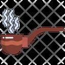 Tobacco Pipe Smoking Pipe Cigarette Icon
