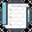 List Checklist Task Icon