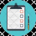 Planning Checklist Task Icon