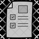 Todo List Item List Bulleted List Icon