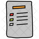 Todo List Item List Bulleted List Icon