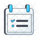 Todo List Agenda List Task List Icon
