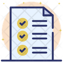 Todo List Checklist Schedule Icon
