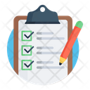 Checklist Verified List Memo Pad Icon