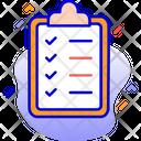 Clipboard Tasks Todo List Icon