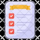 Checklist Todo List Items List Icon