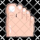 Toe Foot Feet Icon