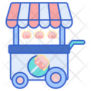 Toffe Apple Stall Icon