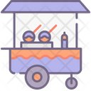 Toffee Apple Stall Icon