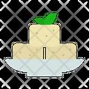 Tofu Food Vegetarian Icon