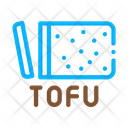 Tofu Cheese Food Icon