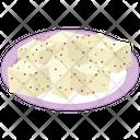 Tofu Cheese Platter Cheese Food Icon