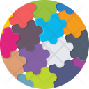 Puzzle Jigsaw Strategy Icon