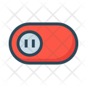Toggle Switch Off Icon