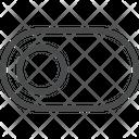 Button Slide Slider Icon