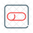 Off Toggle Switch Icon