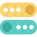 Toggle Buttons Icon