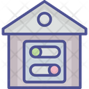 Toggle House Home Toggle Icon