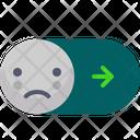 Off Switcher Sad Icon