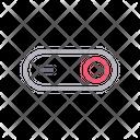 Slider Switch On Icon