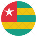 Togo National Country Icon