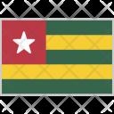 Togo Flag Country Icon
