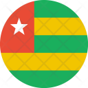 Togo Flag World Icon