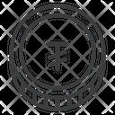 Tugrik Mongolian Mnt Icon