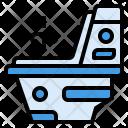 Flush Toilet Wc Icon