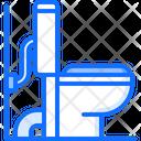 Toilet Connection Plumber Icon